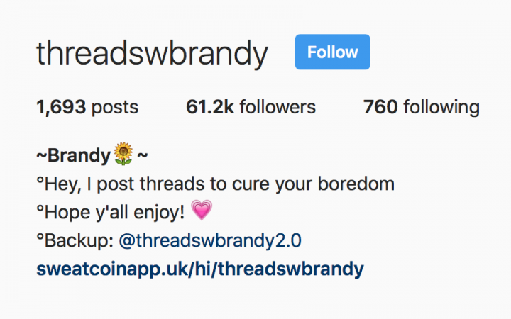threadswbrandy via Instagram