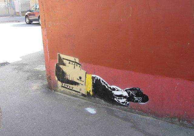 Homeless street art