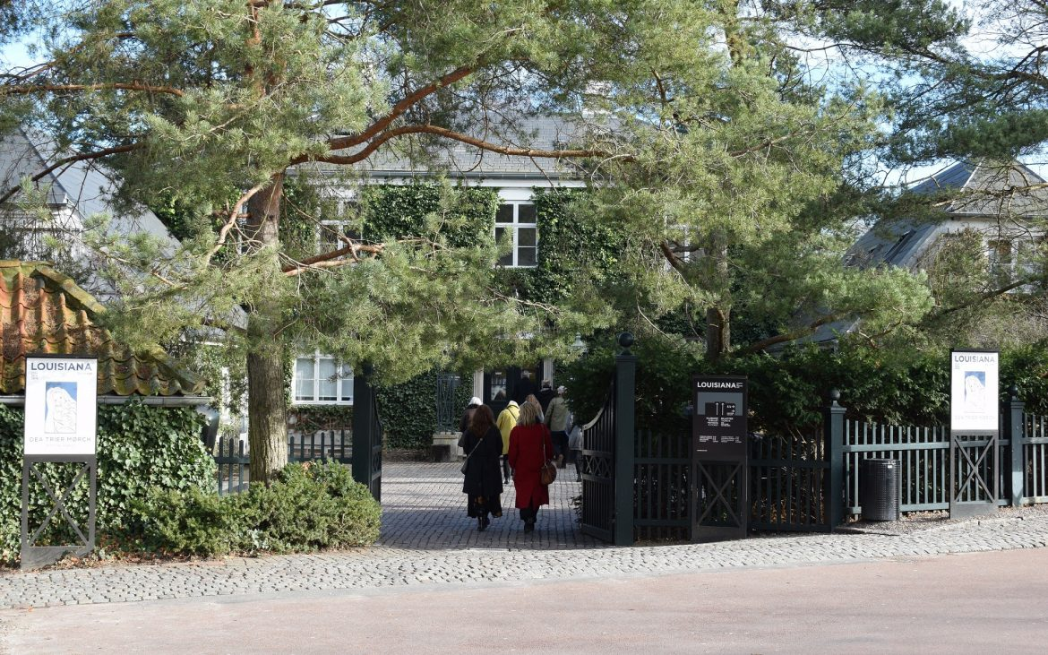 Entrance of museum