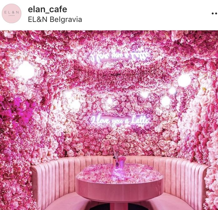 Flower interiors inside Elan Belgravia