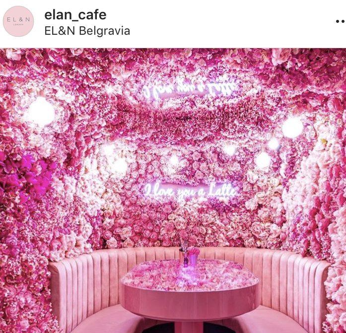 Flower interiors inside Elan Belgravia