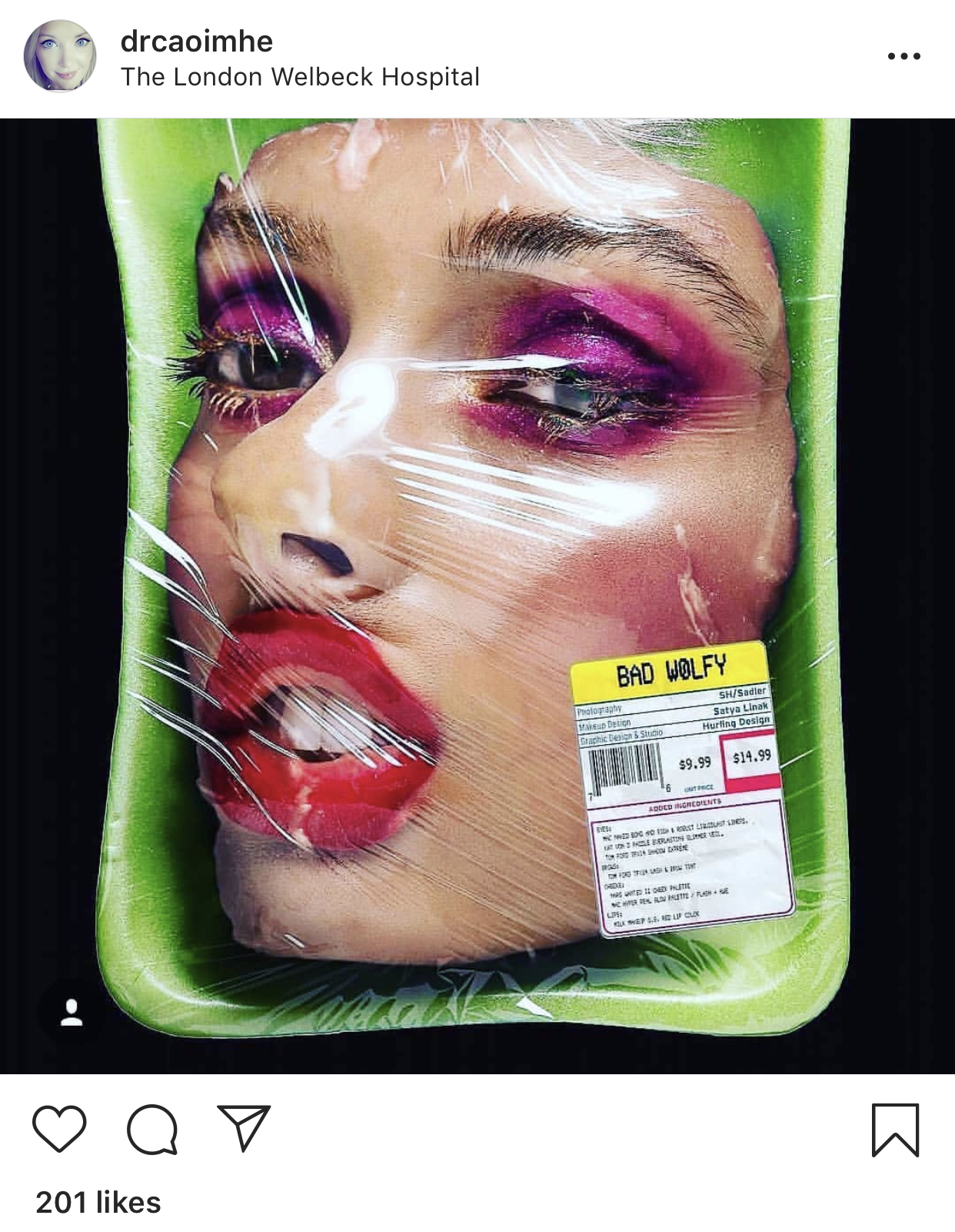 Dr Doherty made an Instagram post about how dangerous Kylie Packages are for young audiences as they don't require it.
