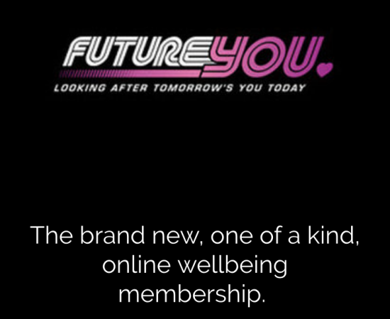 Future You Homepage for their website