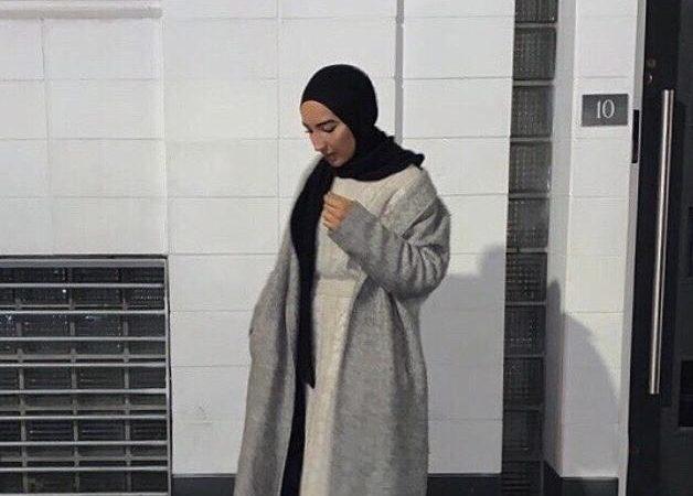 Apicture of Fatiha Cheraitia wearing modest clothing.