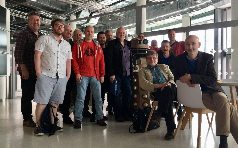 Doctor Who Blu-ray core team. [Steve Roberts]