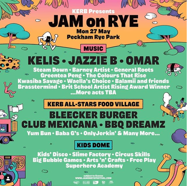 Jam on the Rye Promo Lineup