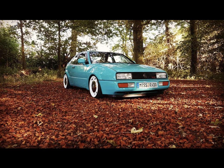 Volkswagen Corrado in Teal