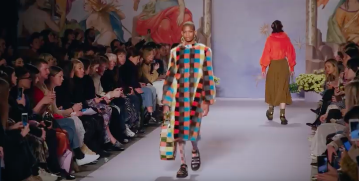 Look 15 for Shrimps AW19