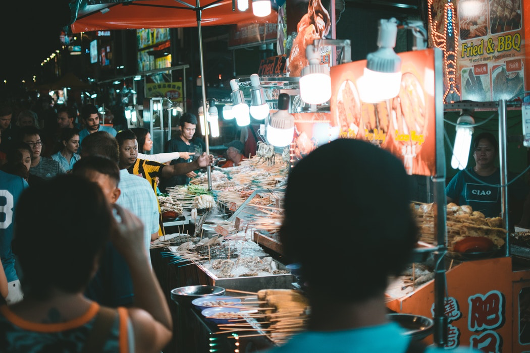 Jalan Alor Street Market