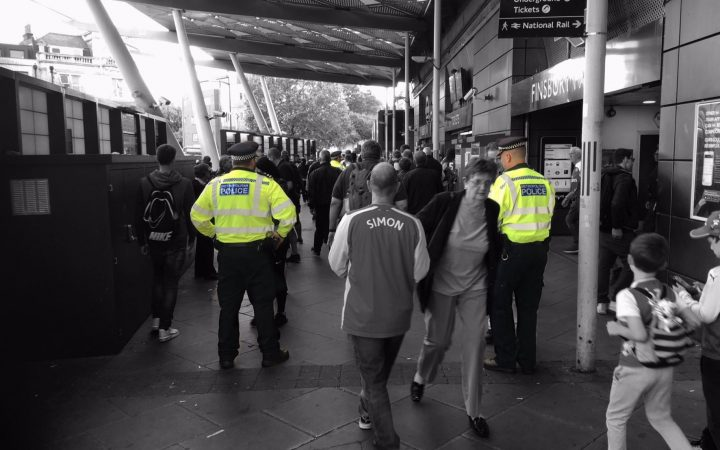 Photo credi: Islington Police via Twiter: https://twitter.com/MPSIslington