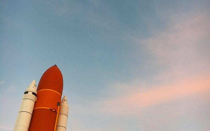 A rocket at Cape Canaveral [Maha Khan]