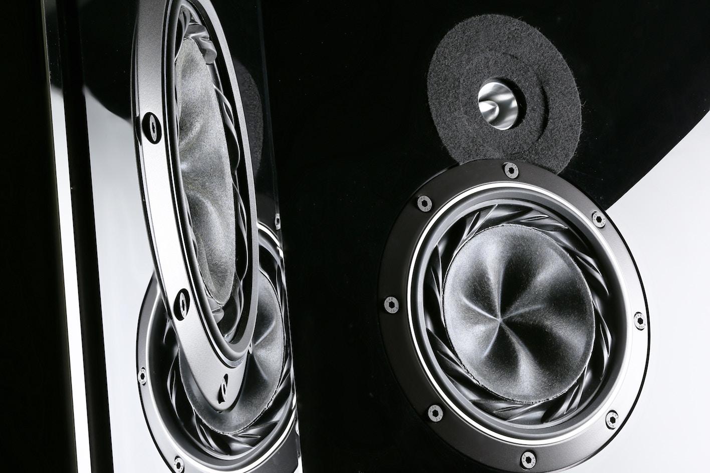 subwoofer speaker up close