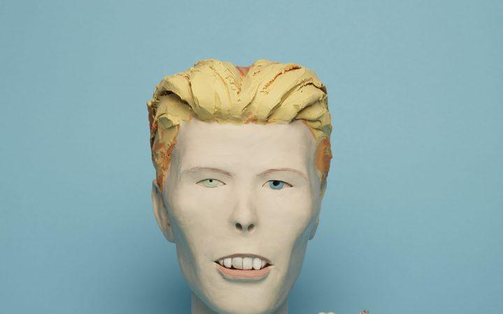 David Bowie sculpture