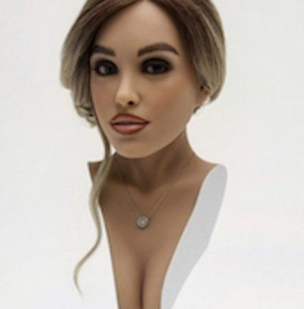 Harmony, the first AI sex doll released on the market.