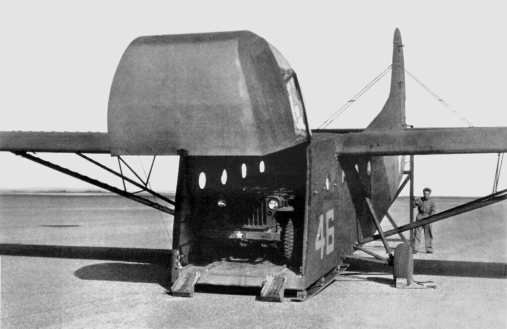 A small glider aircraft used in operations during WW2
