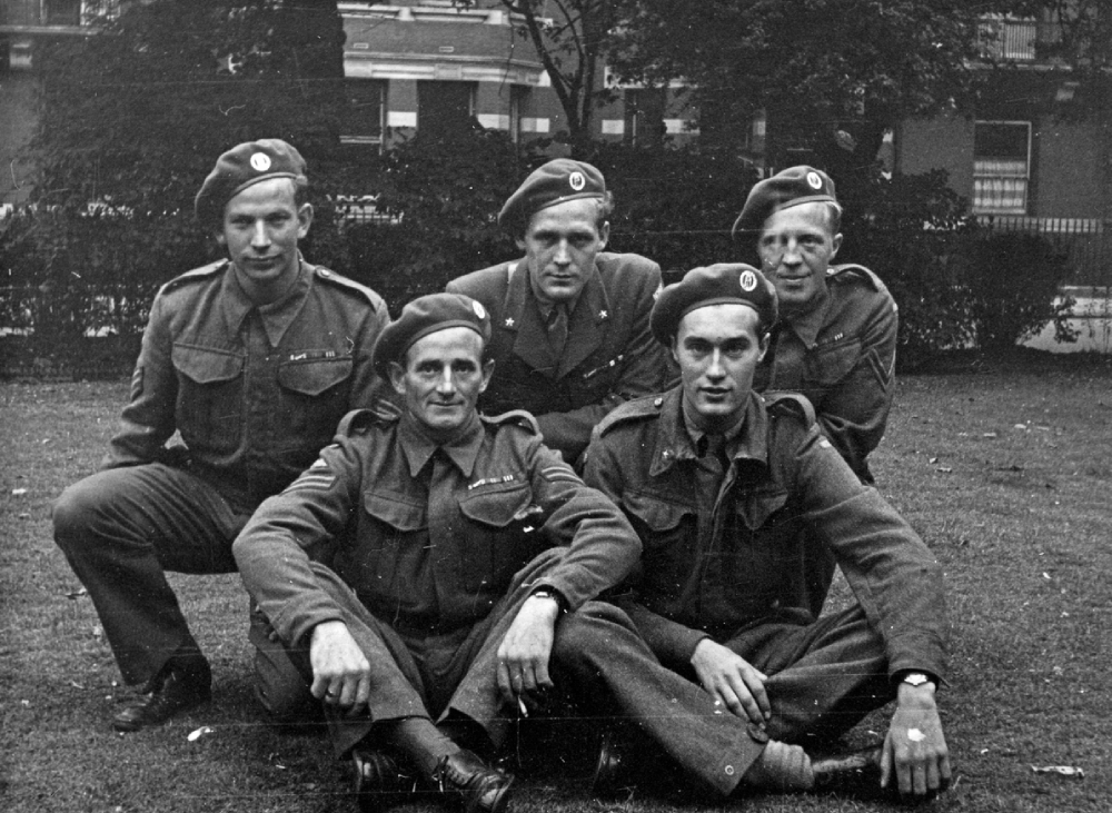 Commandos from Operation Gunnerside gathered in London
