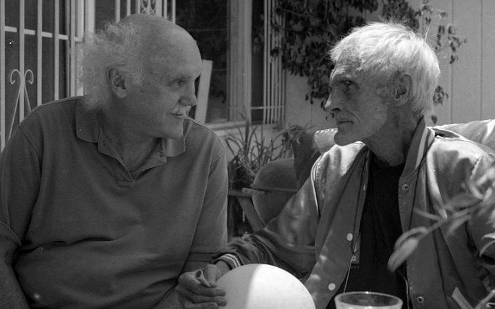 Timothy Leary with Ram Dass