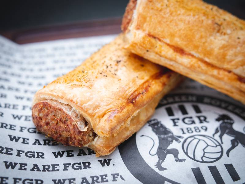 A photo of Forest Green vegan sausage rolls