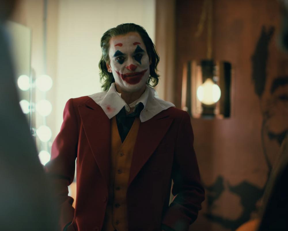 Joaquin Phoenix plays The Joker