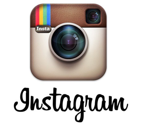 The original Instagram logo, brown small camera.