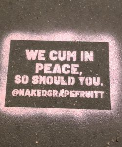 Naked Grapefruit's slogan: