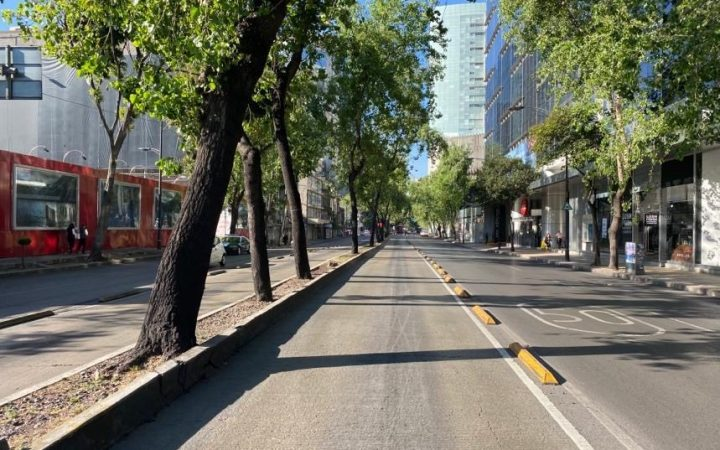 Mexico City in Lockdown.