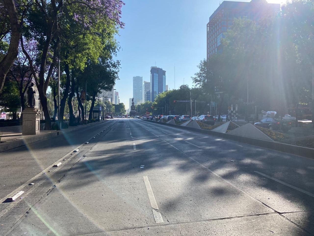 Mexico City in Lockdown.