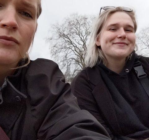 Danish friends in isloation