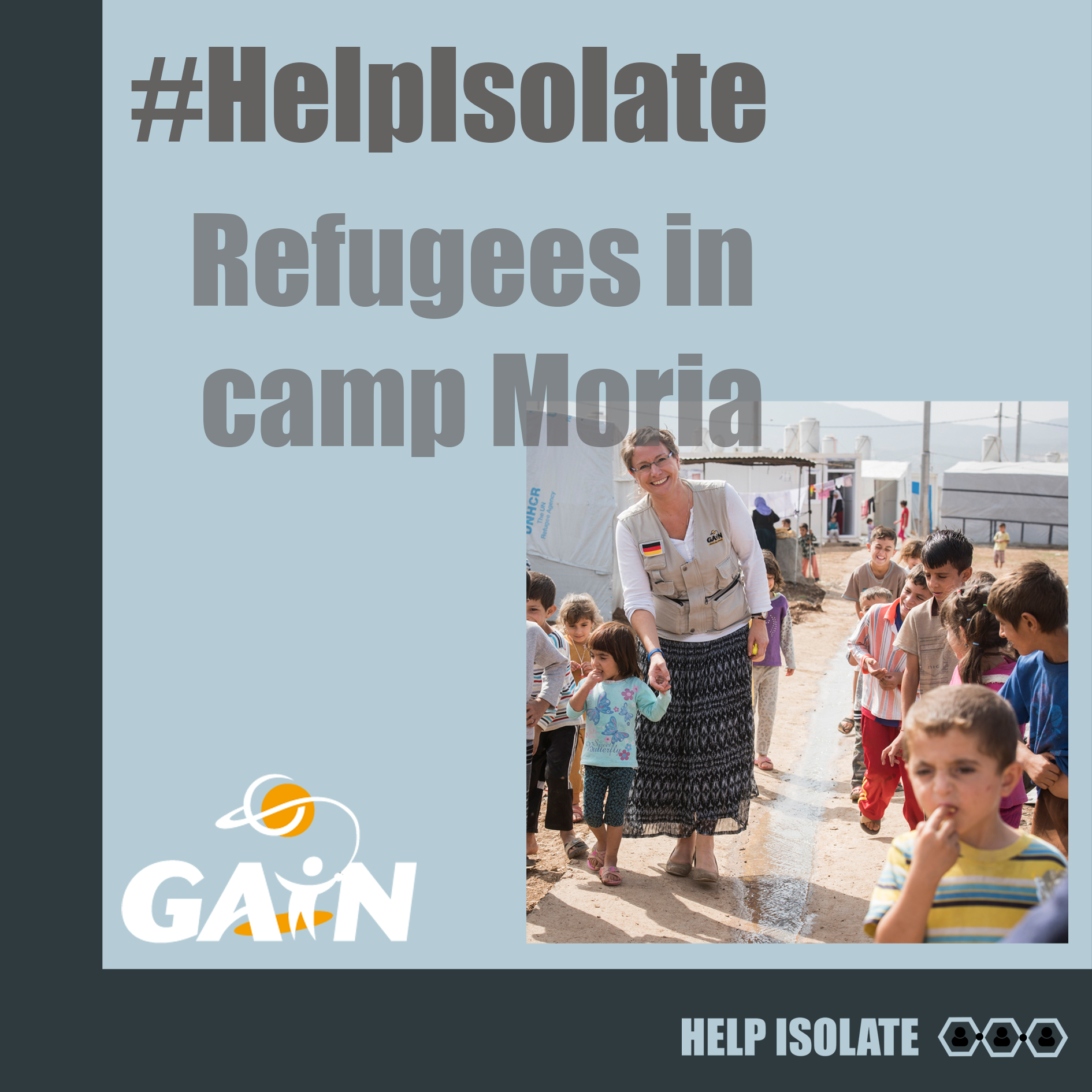 help isolate campaign