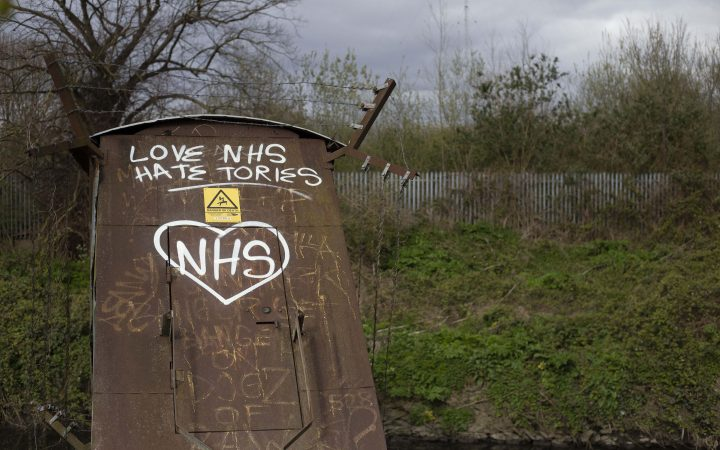 The NHS gets some love in the Middlesex Filter Beds Nature Reserve