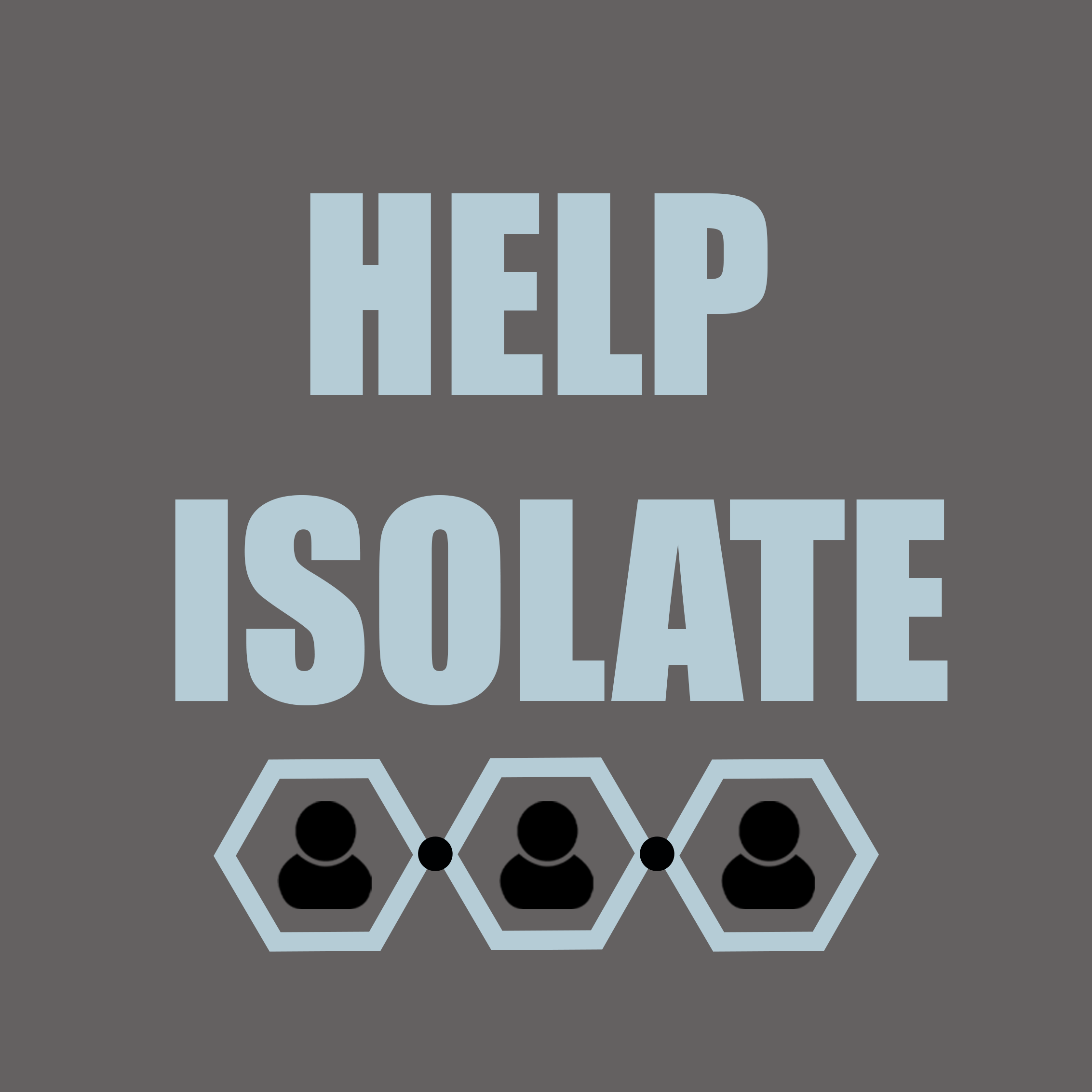 help isolate logo