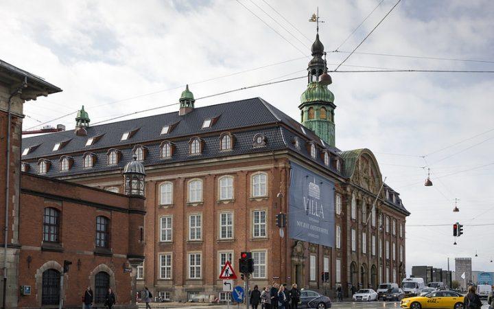 Street view of the Villa Copenhagen