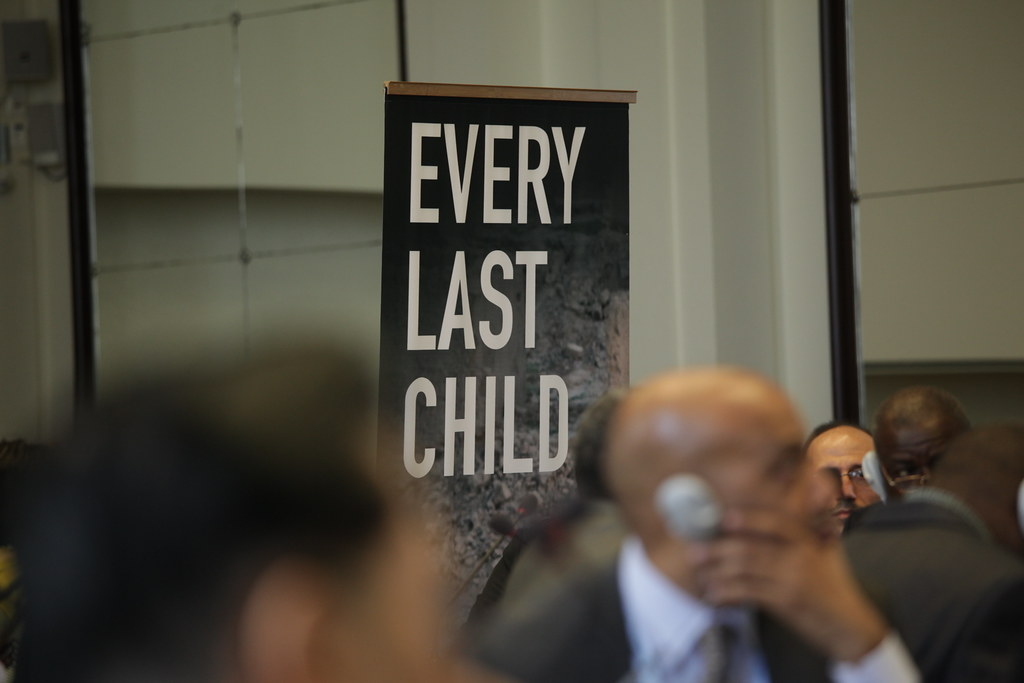 Placard Every Last Child