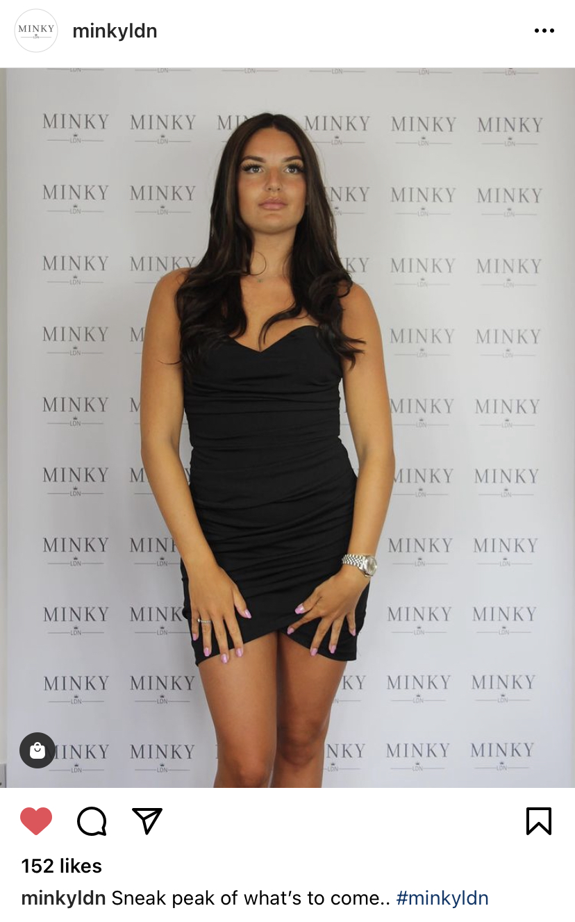An image of Minky London's designs