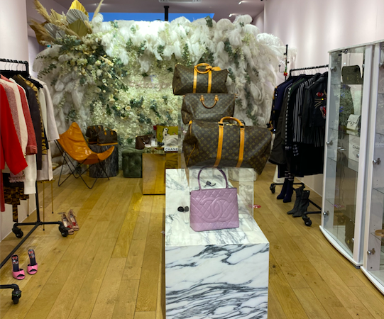 An image of Luxury Promise's shop floor.