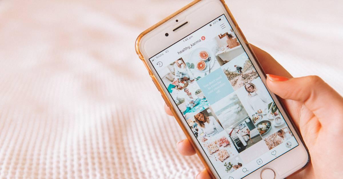 Instagram Influencer feed
