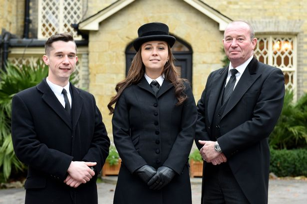 Mollie Stoneman, 27 year old Funeral Director