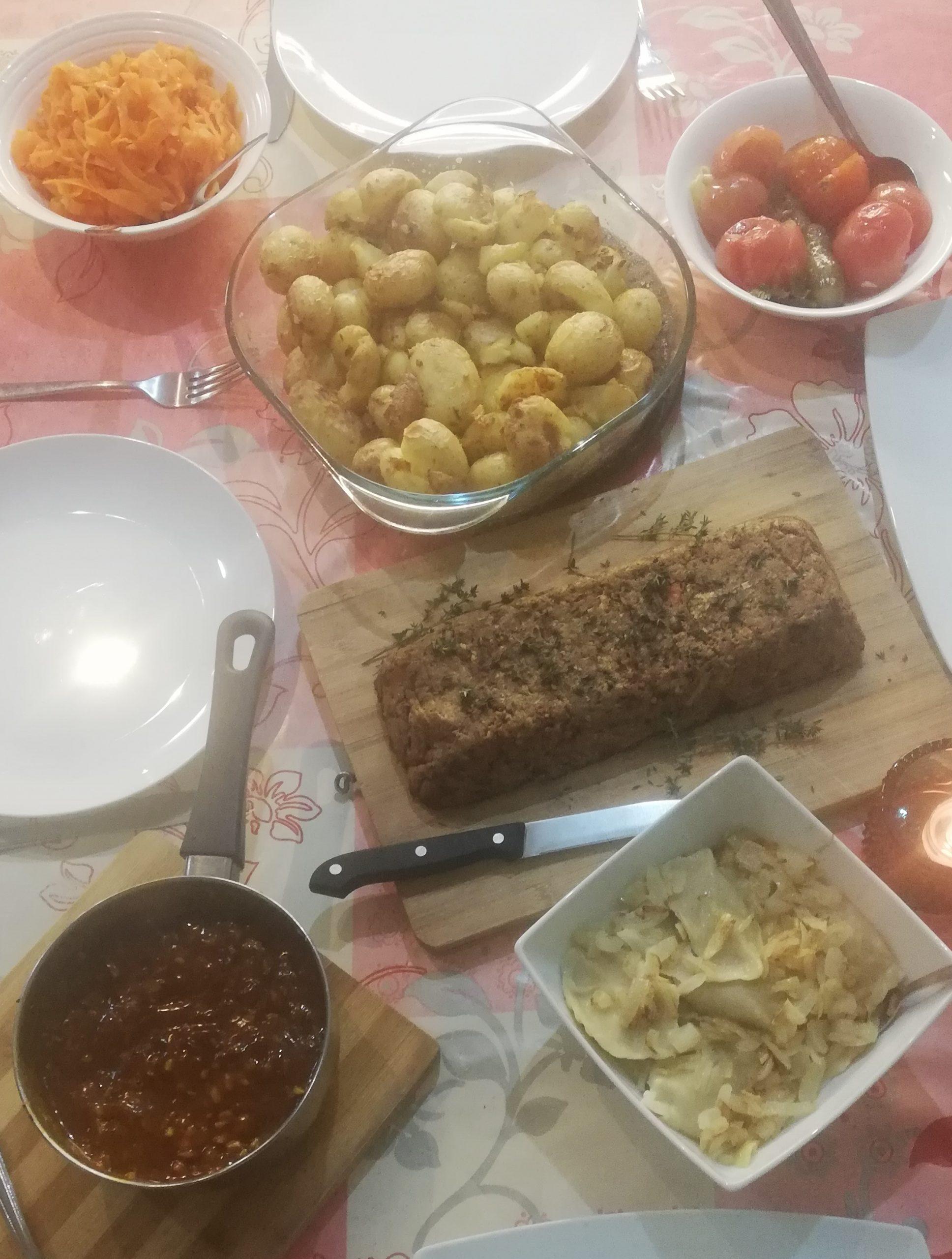 Vegan Christmas Eve dinner