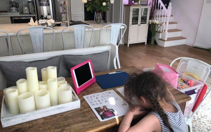 Home-schooling work station