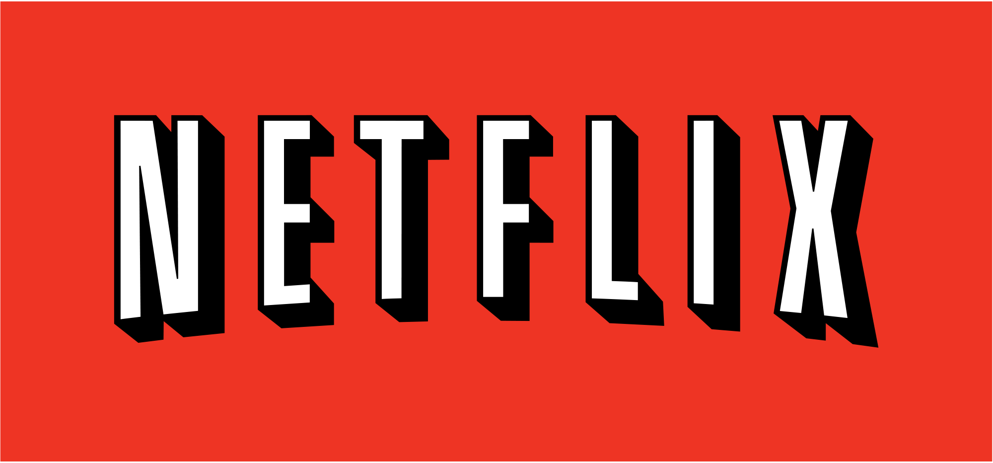 The Netflix logo - Image Courtesy: Netflix, Released into the public domain | Wikimedia Commons. Published on Flickr by Global Panorama.