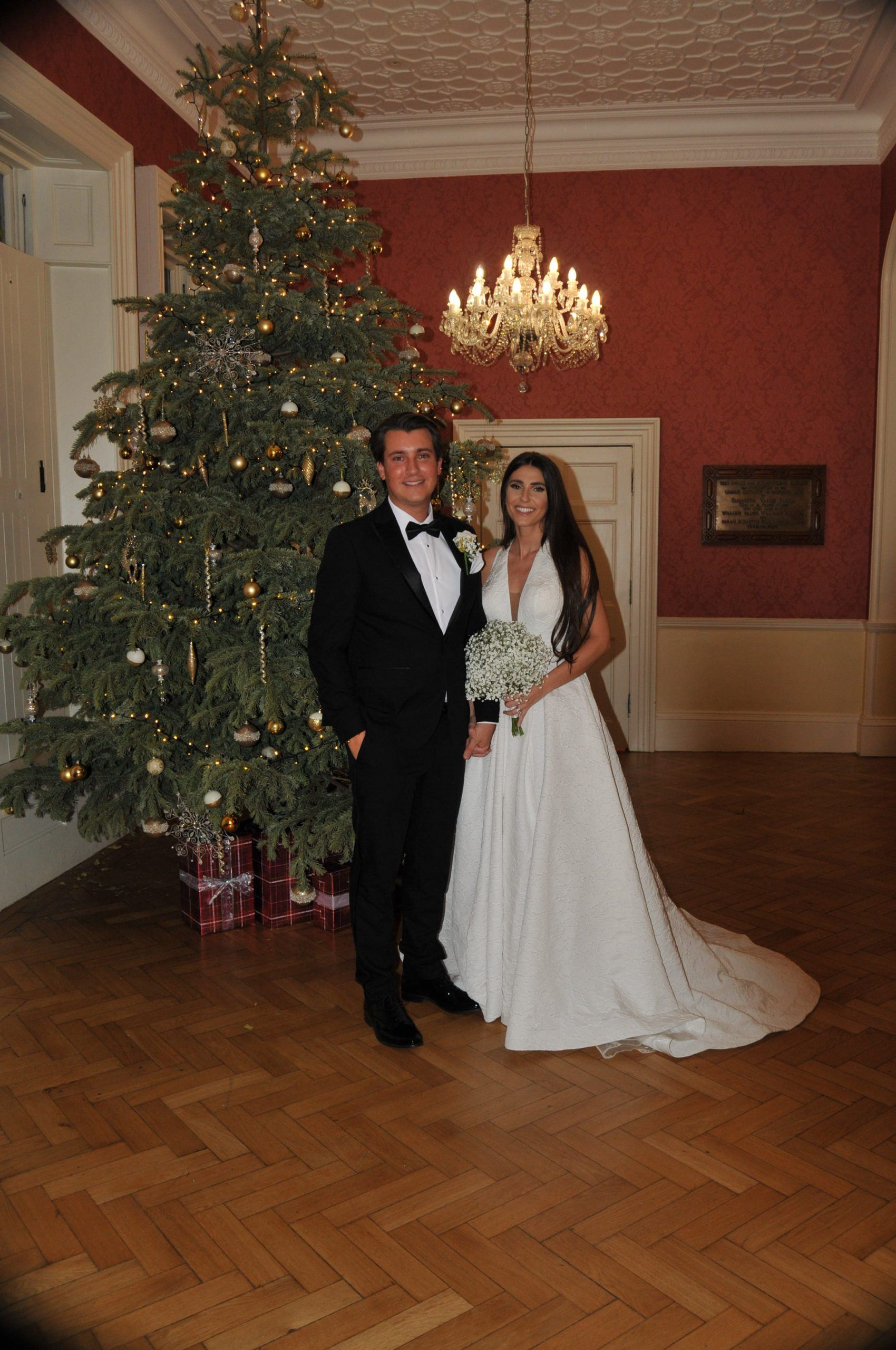 Rebecca and Billy Green at Langtons House and Gardens