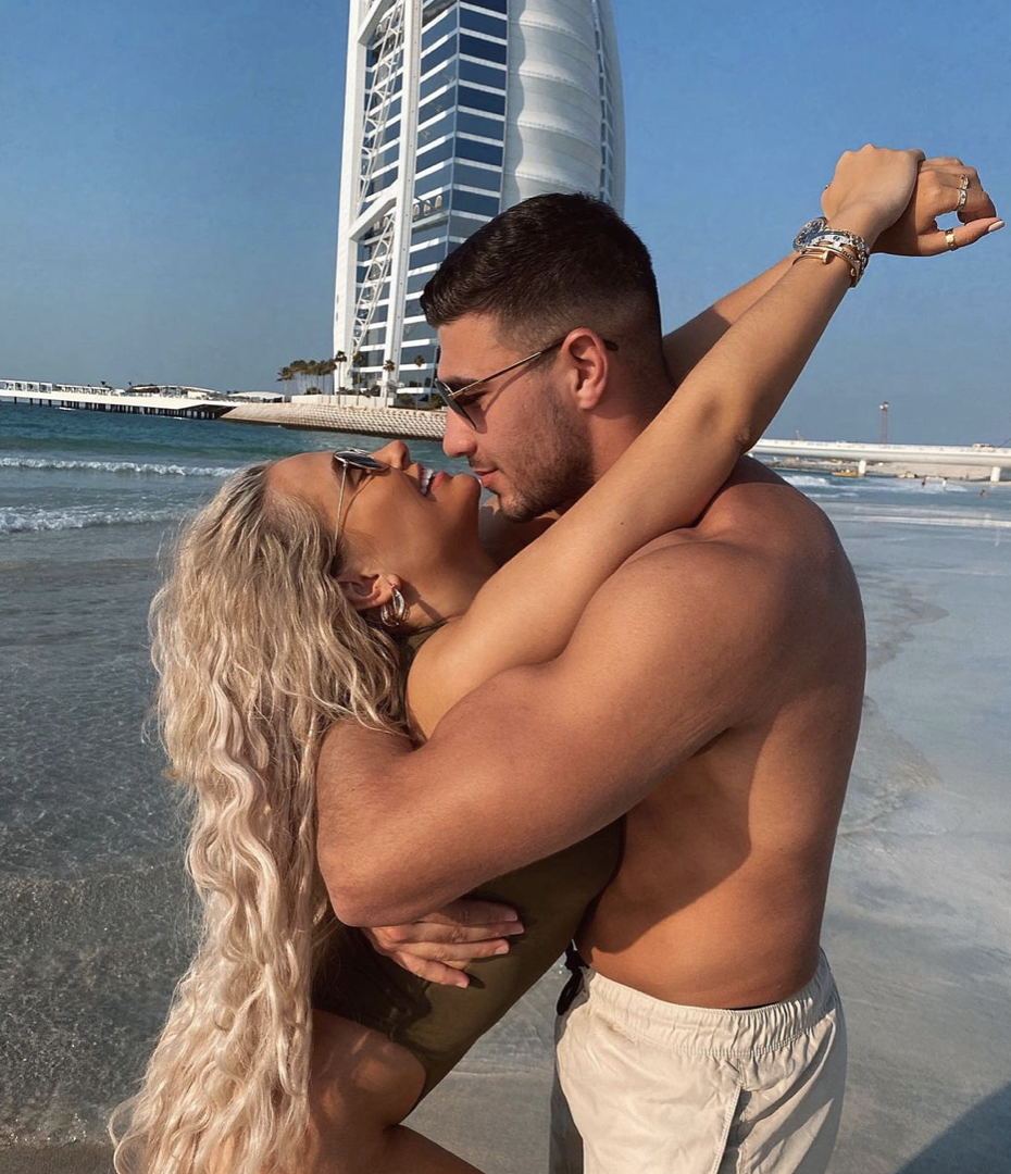 Molly-Mae Hague and Tommy Fury in Dubai