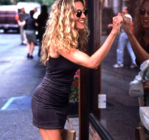 An image of Sarah Jessica Parker in Sex and the City