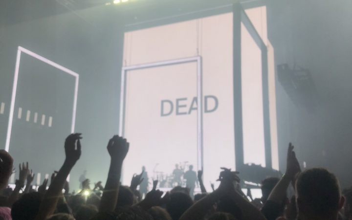 1975 concert at the O2 arena February 2020, a month before lockdown