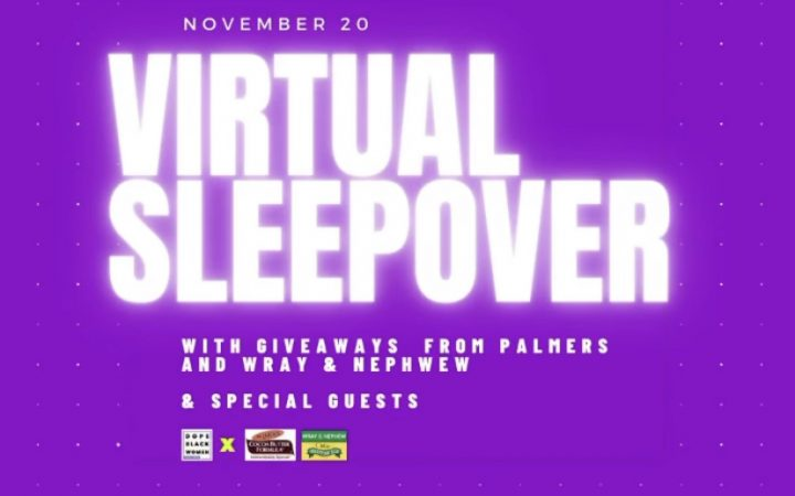 Promotional poster of virtual event