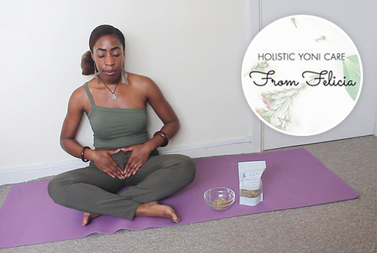 An image of Rachel practising holistic healing. Image is by Rachel.