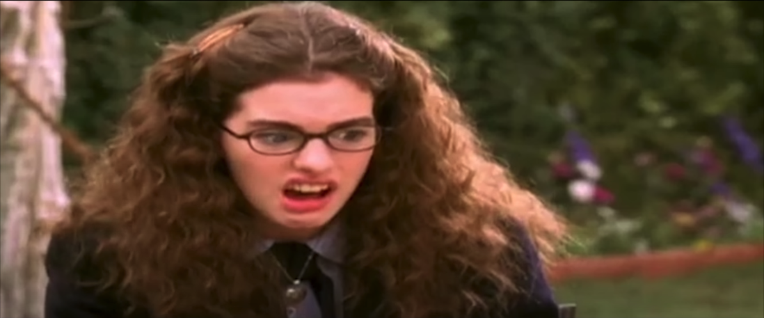 A scene from the film The Princess Diaries. Credit Walt Disney Pictures